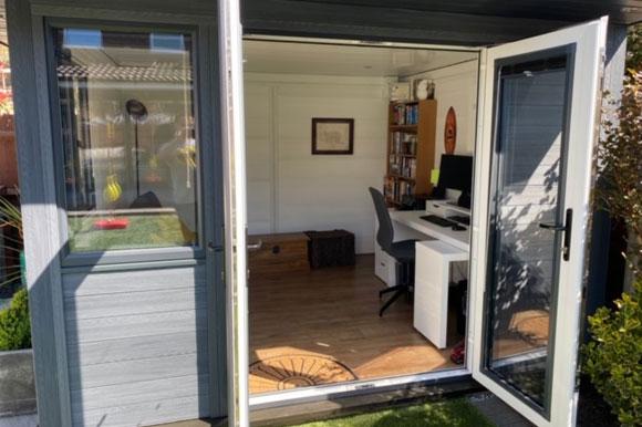 Composite Garden Office Bedford