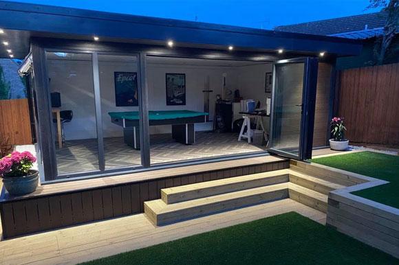 Relaxing Garden Studio Retreats Bedford