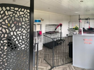 Bedford Garden Room Dog Groomer Finishing Inside Piece