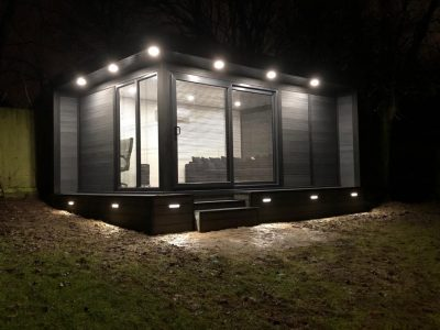 Bedford Garden Room Being Used As Quite Retreat Outside Shot